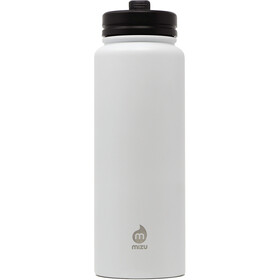 MIZU M15 Borraccia con tappo e cannuccia 1500ml, enduro white